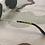 Thumbnail: AO Eyewear Original Pilot Sunglasses - Grey Lens & Gold Frame