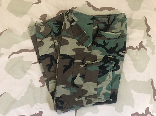 US Military Woodland Camo Cold Weather Field Pants