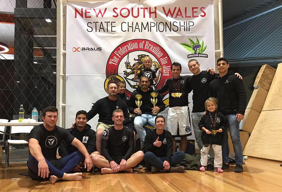 Sydney Jiu Jitsu Academy - State Champions 2017