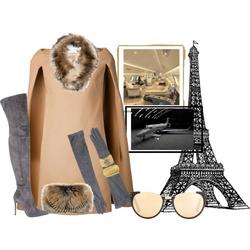 Private Flight to Paris