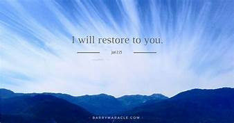 Prophetic Word for 2021: Restoration of Hope and Peace