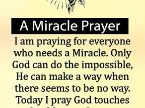 Prophetic Word: Miracles Abounding! You Haven't Missed Yours!