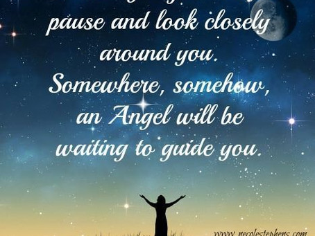 Angels Are On Standby Waiting On The Voice Of His Word Through You To Activate Them Into Action!