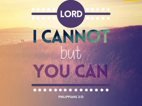 I Am Doing For You What Man Cannot Do For You.