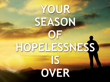 """""""God Says: I Want to Give a Renaissance of Hope to Your Life"""""""