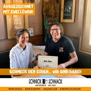 """Zertifizierung """"Schmeck den Süden"""""""