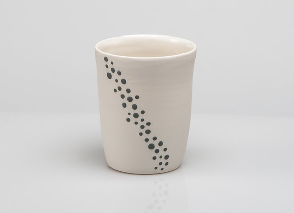 tasse à thé BUBBLES grise