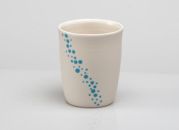 tasse à thé BUBBLES bleu