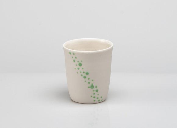 tasse à café BUBBLES verte