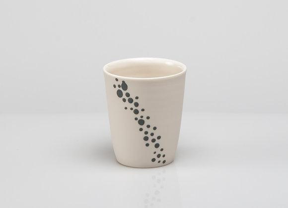 tasse à café BUBBLES grise