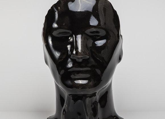 """masque """"REGARDE MOI"""" noir"""
