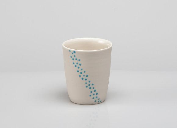 tasse à café BUBBLES bleu