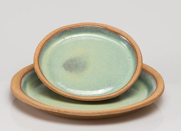 grande assiette SARLAT turquoise