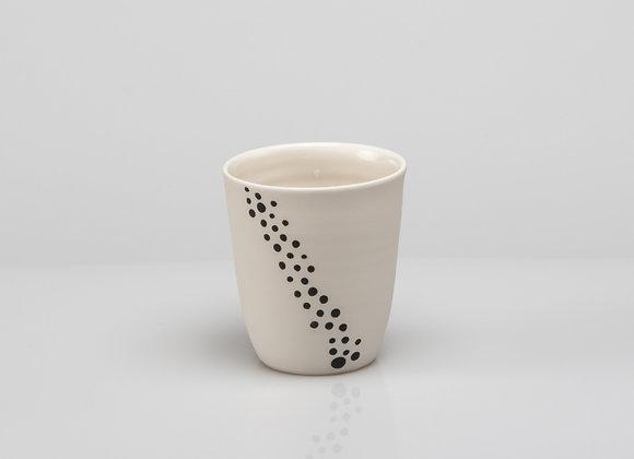 tasse à café BUBBLES noire