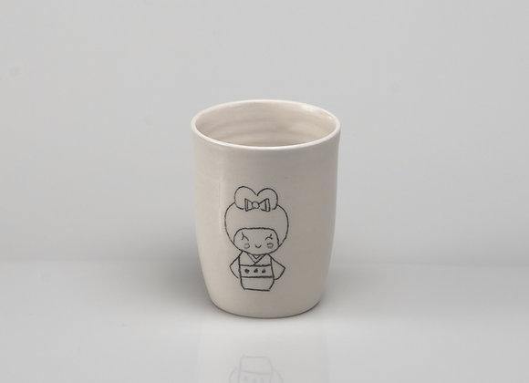 tasse à thé KOKESHI
