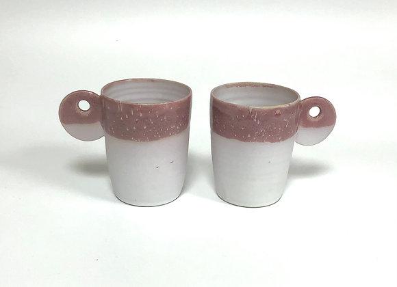"Mug ""Cemento"" rose"