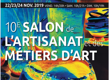 Salon des Metiers d'art - Nogent sur Marne (94130)