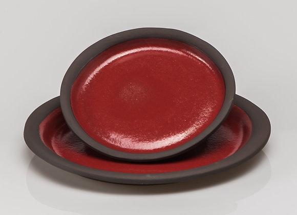grande assiette TOKYO rouge