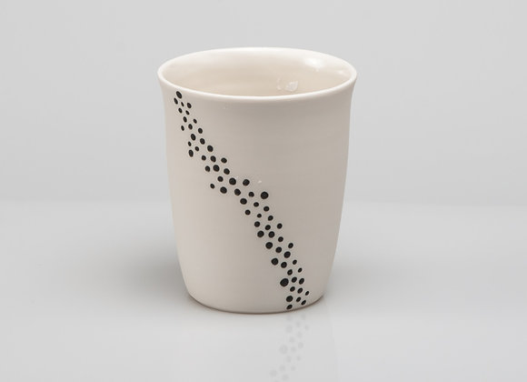 tasse à thé BUBBLES noire