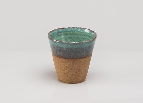 tasse à café SARLAT turquoise