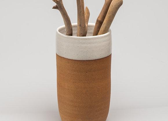 vase SARLAT blanc
