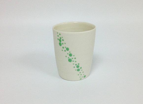 tasse à thé BUBBLES verte