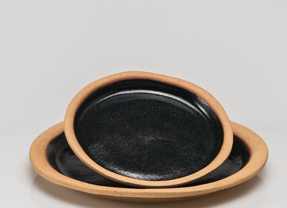 petite assiette SARLAT noire