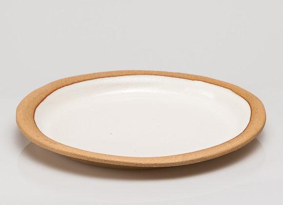 grande assiette SARLAT blanc