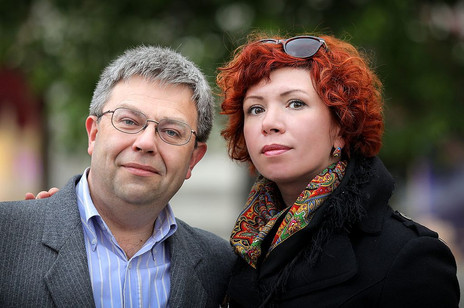 Максим Амелин и Анна Золотарёва