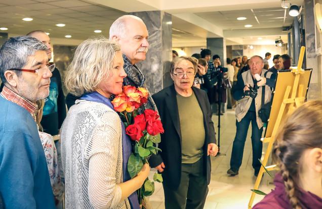 На выставке работ А. Адабашьяна