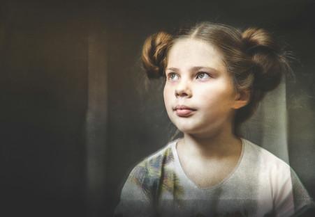 Юля. Портрет