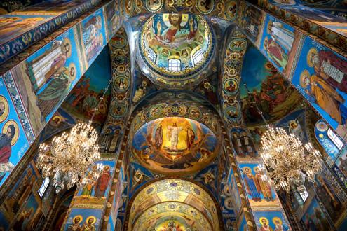 Спаса на Крови. Санкт-Петербург