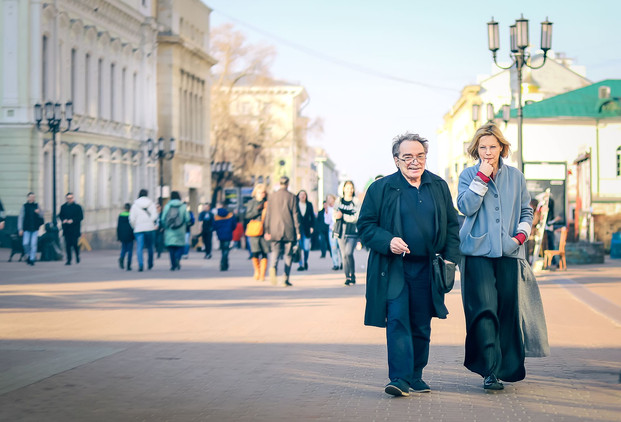 Александр Адабашьян и Алёна Бабенко