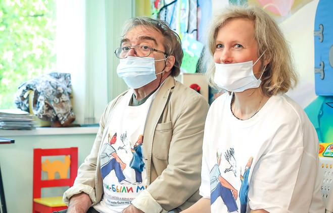 Александр Адабашьян и Анна Чернакова