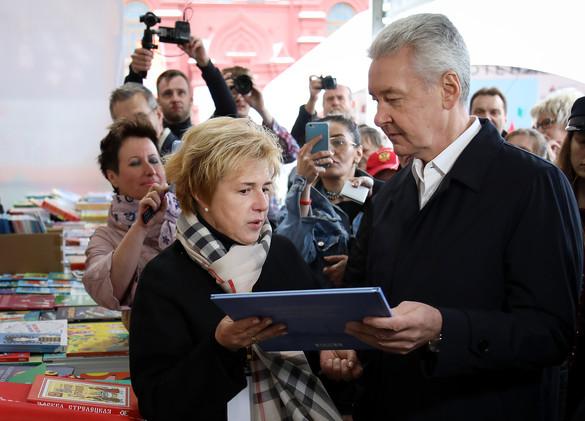 Мария Веденяпина и Сергей Собянин