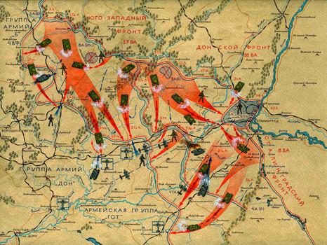 СТАЛИНГРАДСКАЯ БИТВА. КОНТРНАСТУПЛЕНИЕ СОВЕТСКИХ ВОЙСК. Ноябрь — декабрь 1942 г.
