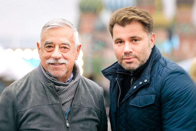 Владимир Грамматиков и Олег Рой
