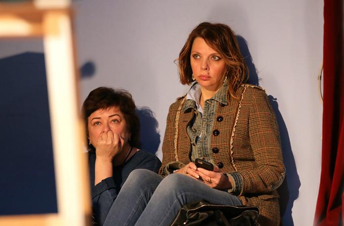 Екатерина Рожднственская и Марина Каменева