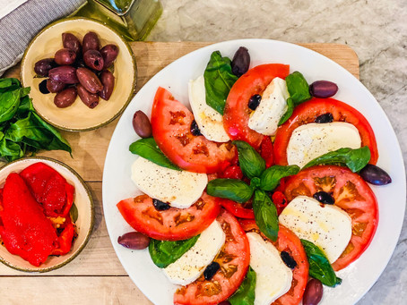 Quick and Simple Caprese Salad