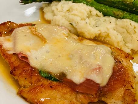 Chicken Saltimbocca (Lightened-up and Gluten-Free)