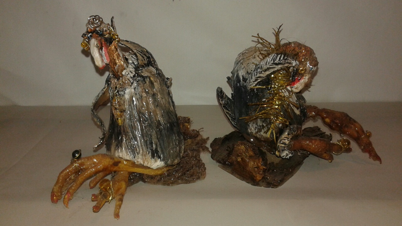 Vulture Sculptures