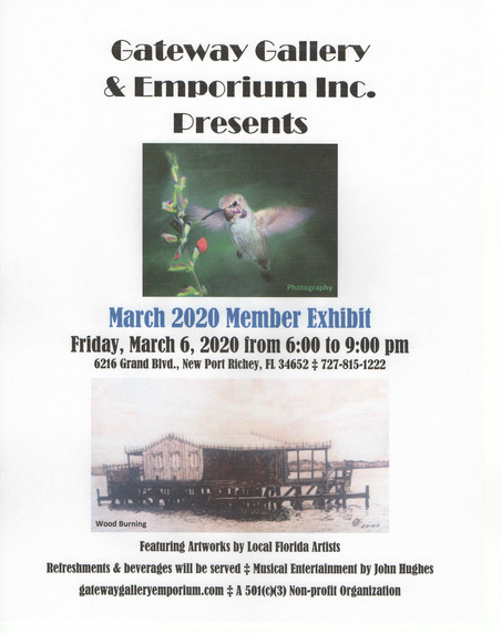 March 2020 Exhibit Reception