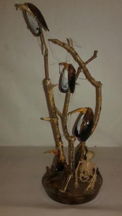Vulture Sculpture