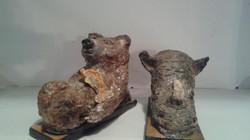 Shoe Zoo Bear & Rhino