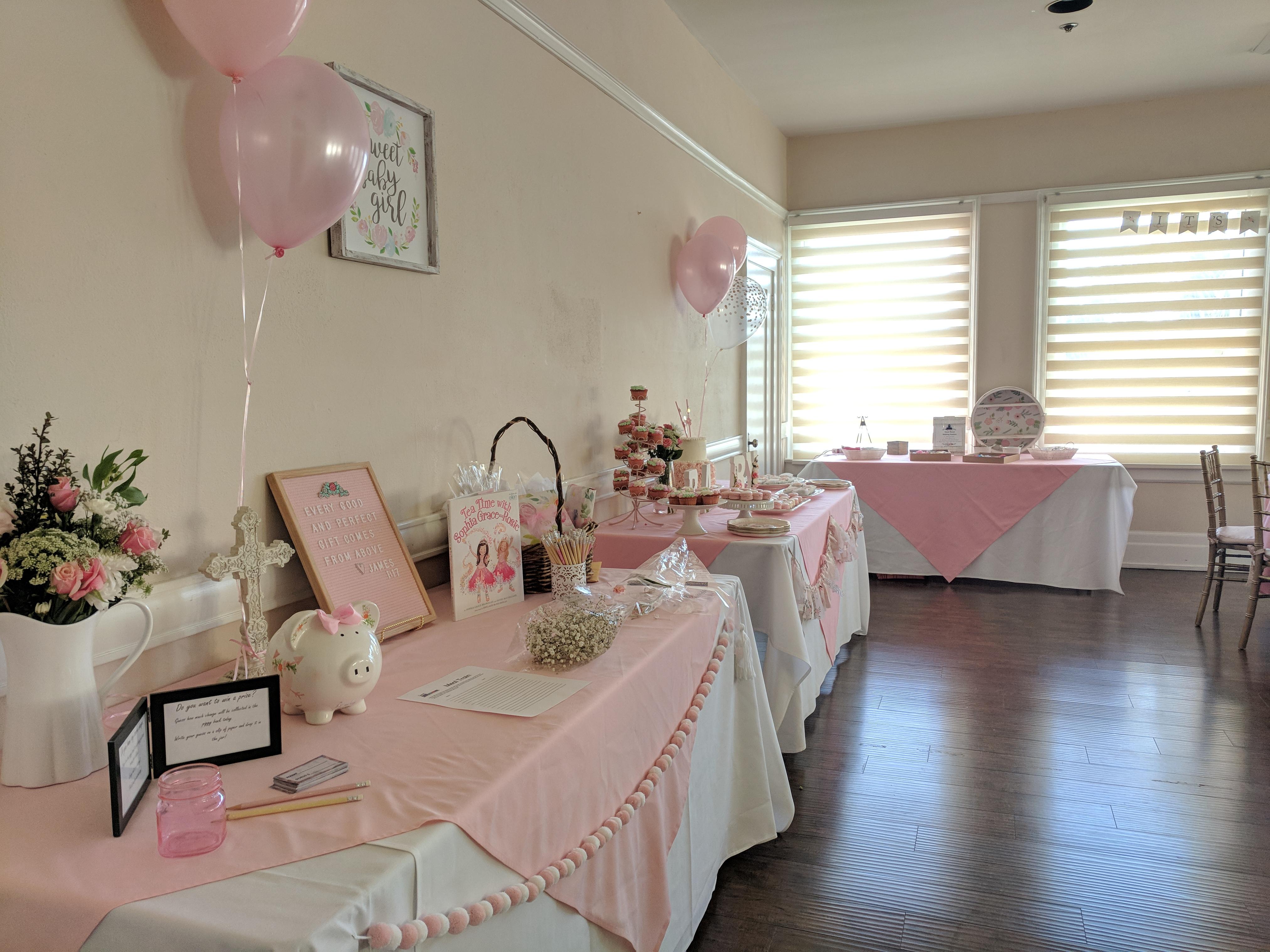Pink Baby Shower Azalea