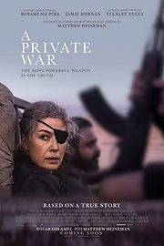 Film Club - A PRIVATE WAR (2018) - UK/USA