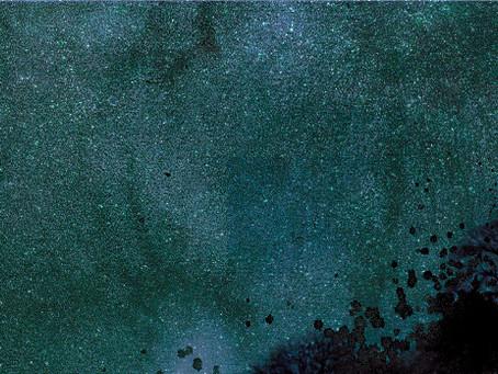 夜空の北海道