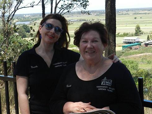 Carol and Relle 2012.jpg