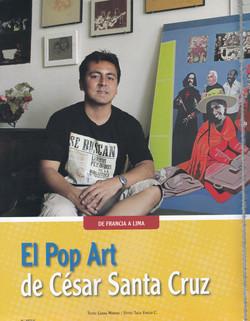 Le Pop art de César Santa Cruz (2)