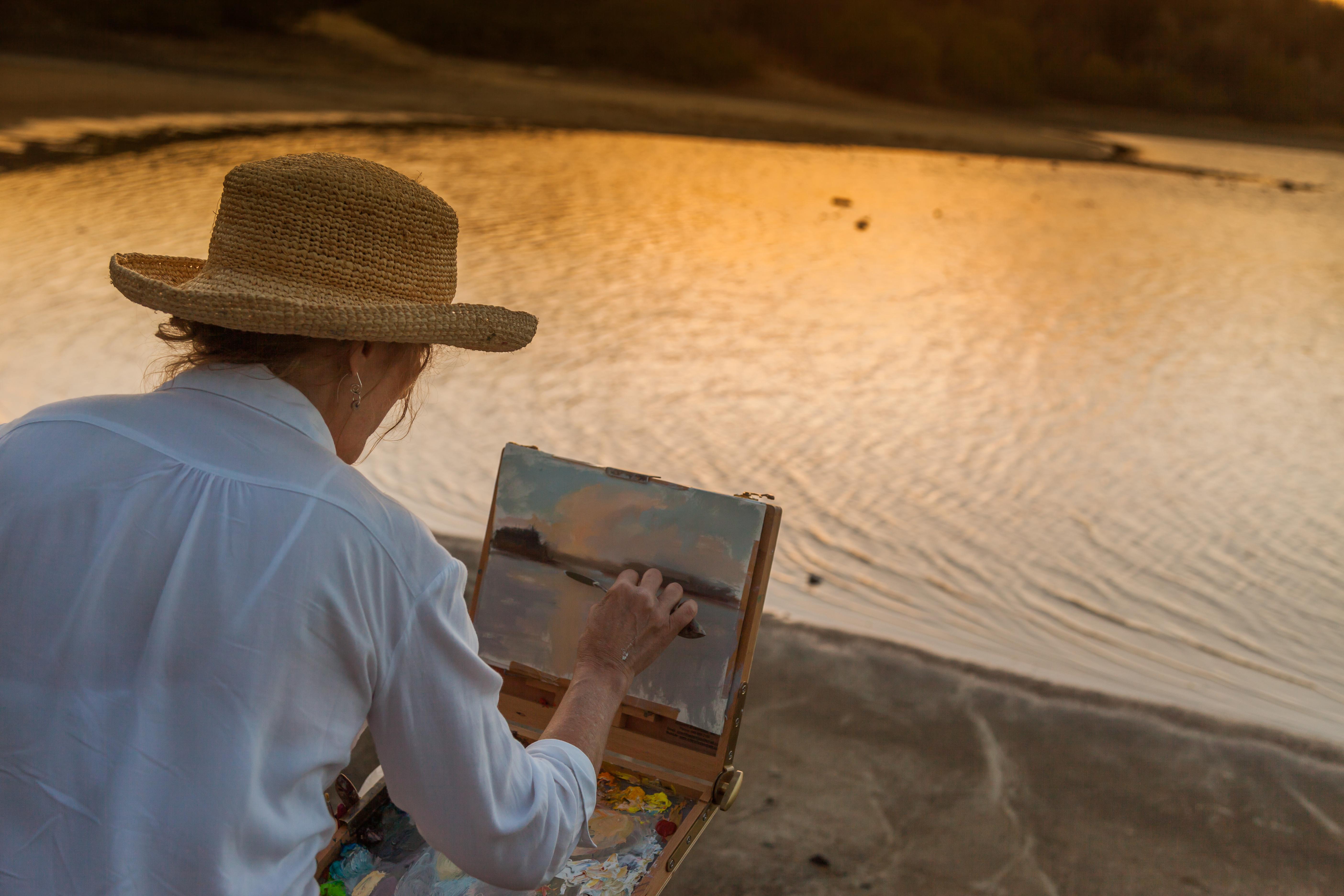 Sunset & Moonlight Painting